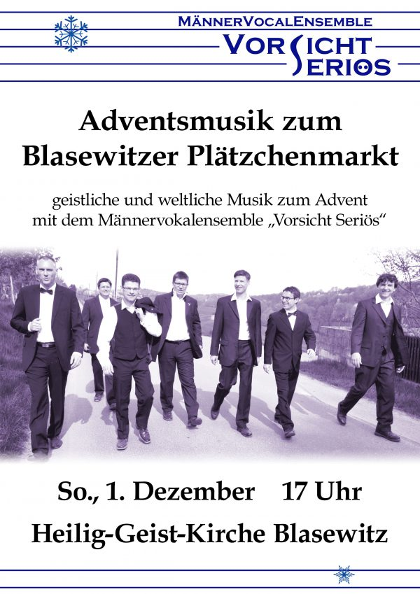 Plakat Adventsmusik Blasewitz